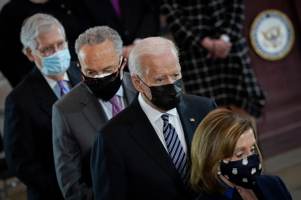 Four Top Congressional Leaders To Meet With Biden And Harris On Infrastructure