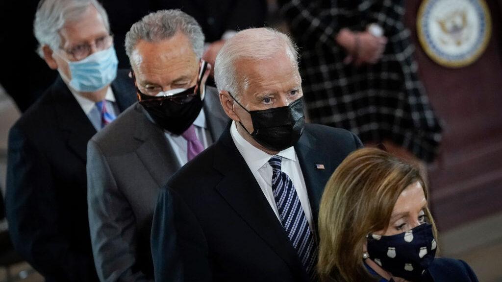 Los cuatro principales líderes del Congreso de EU discutirán infraestructura con Biden y Harris
