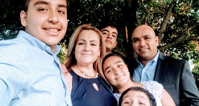 Ser madre de cuatro hijos no evitó que lanzara su empresa