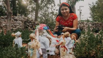 Karla Puch seeks to make the Yucatecan culture visible through this love story. (Courtesy Karla Puch)