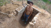 VIDEO: Brat Cave: Teen Built Underground Den After A Fight With His Parents