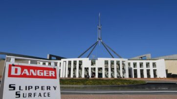 Public confidence in the federal government has plummeted, an ANU study shows.