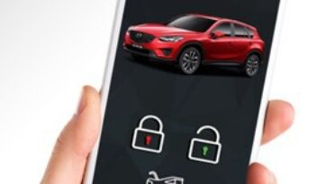 Mobile-Key from Cobra opens cars remotely. (Courtesy of Cobra)