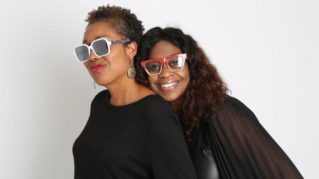 <p>Tracey Green and Nancy Harris, owners of Vontélle eyewear company. (Vontélle Eyewear)</p>
