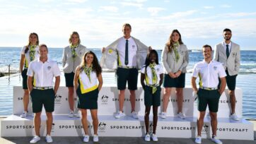 The Australian Olympic Committee has unveiled its opening ceremony uniform for the Tokyo Games.