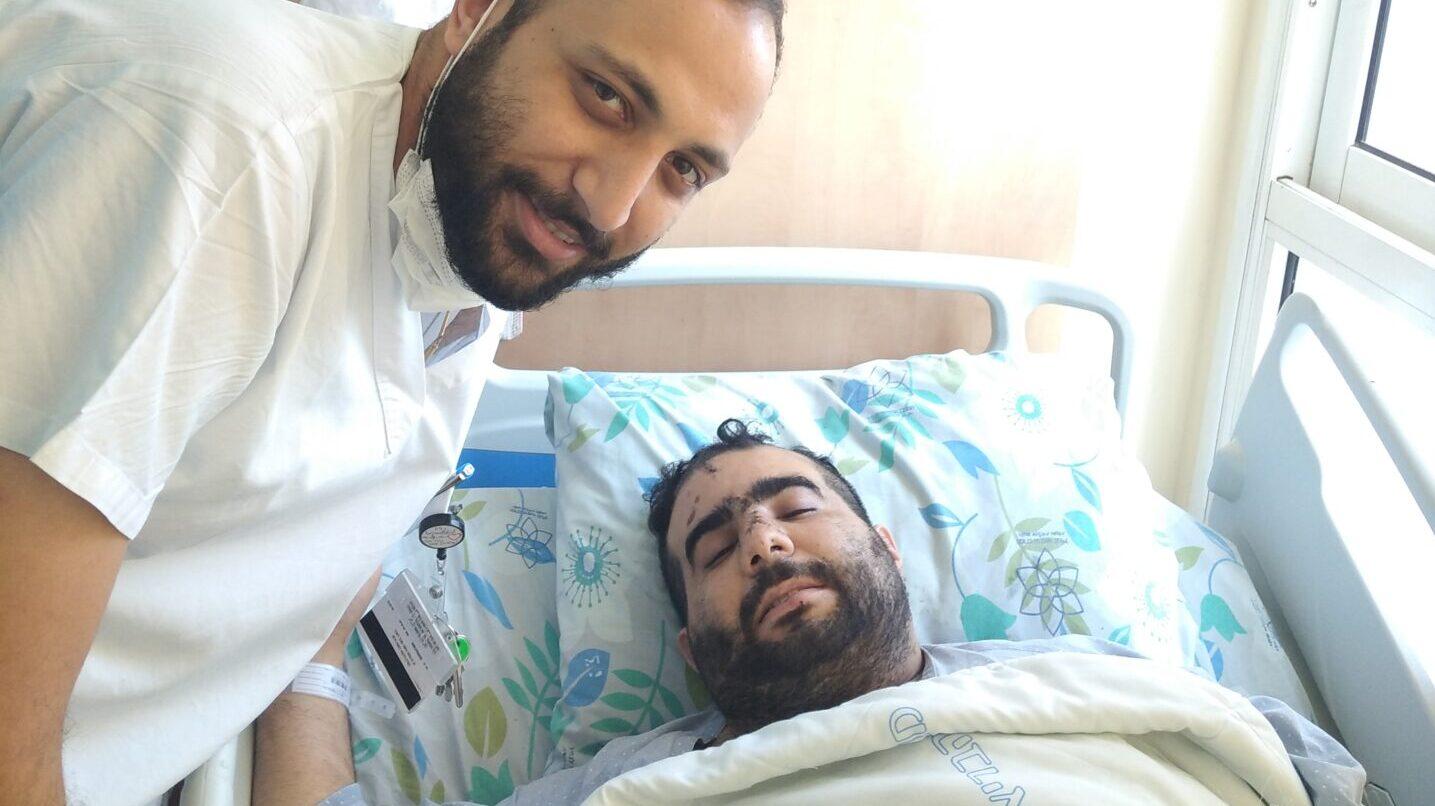 Arab Nurse Reunites With Jewish Man He Saved From Beating