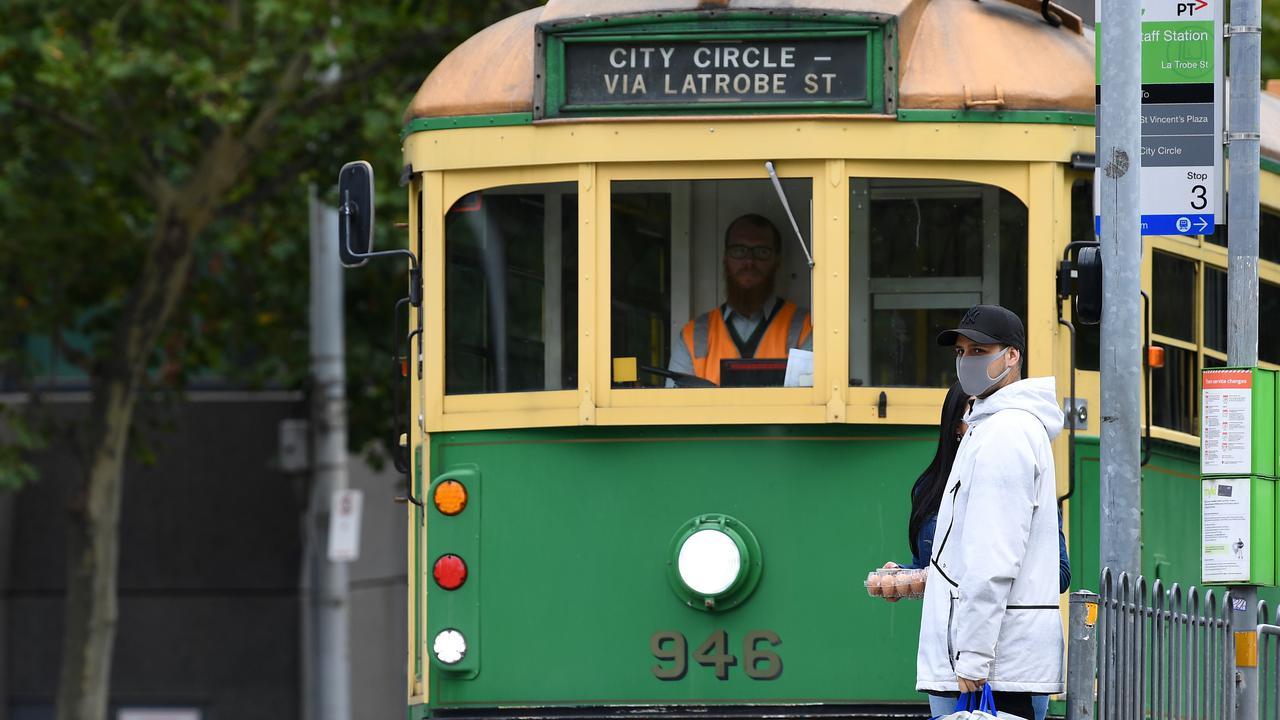 Australia's Victorian Train, Tram Commuter Mask Blitz Begins