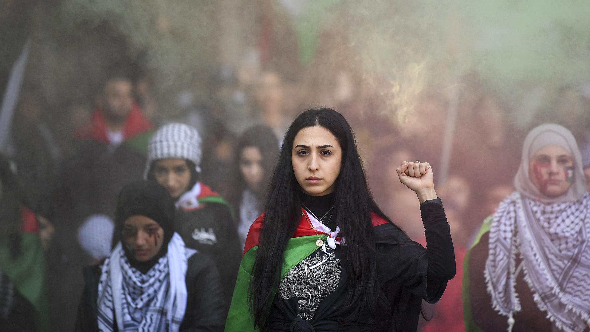Gaza Violence Sparks Capital City Rallies In Australia