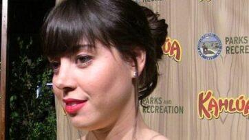 Aubrey Plaza será actriz de voz y una de las productoras ejecutivas de la serie. (Kristin Dos Santos)