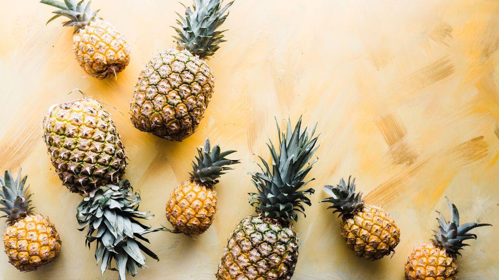 Piña, fruta tropical de América que tiene múltiples usos y beneficios