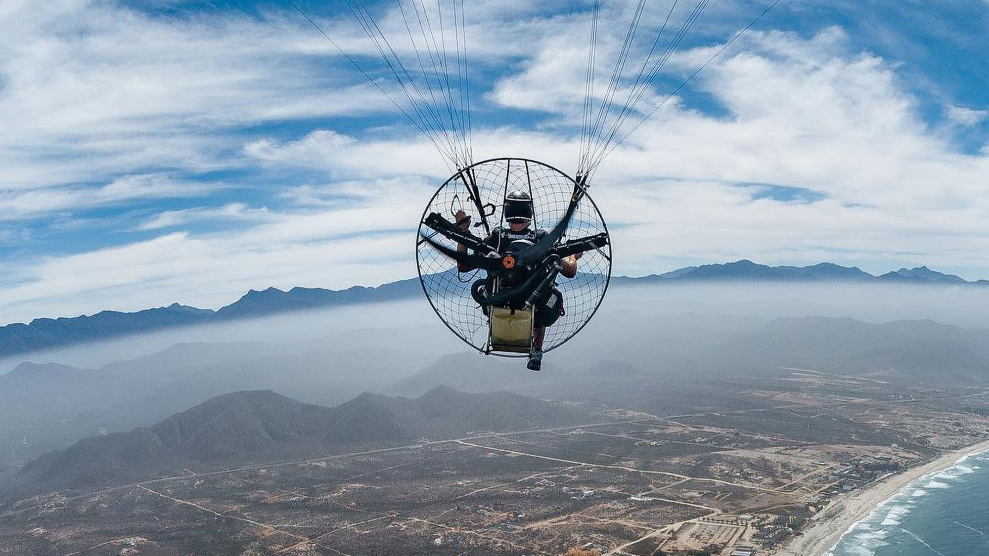 Not Up Close, But Personal: Aerial Photographer Prefers Paraglider To Drone