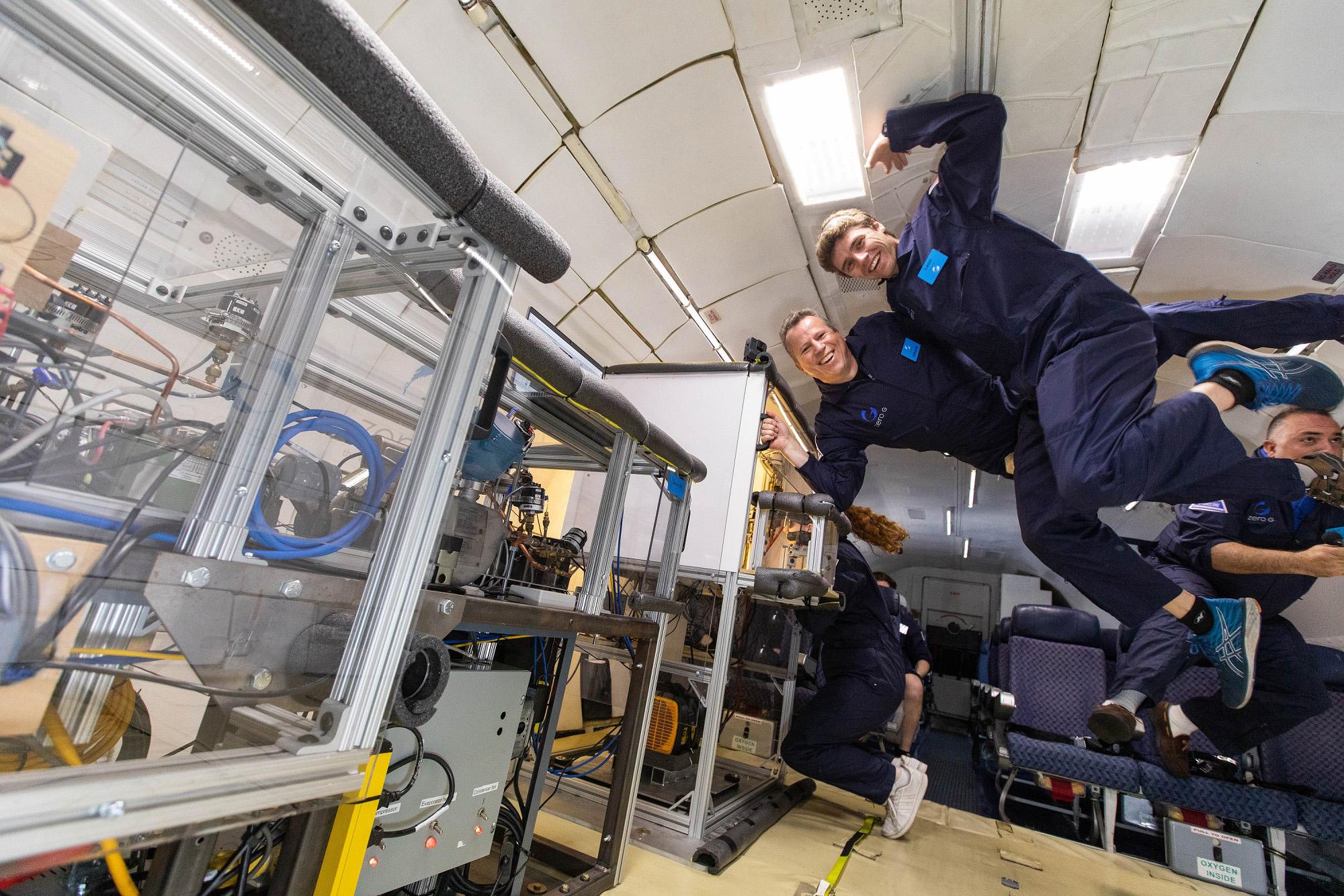 VIDEO: E Freeze: Space Scientists Build Zero-Gravity Fridge For Astronauts