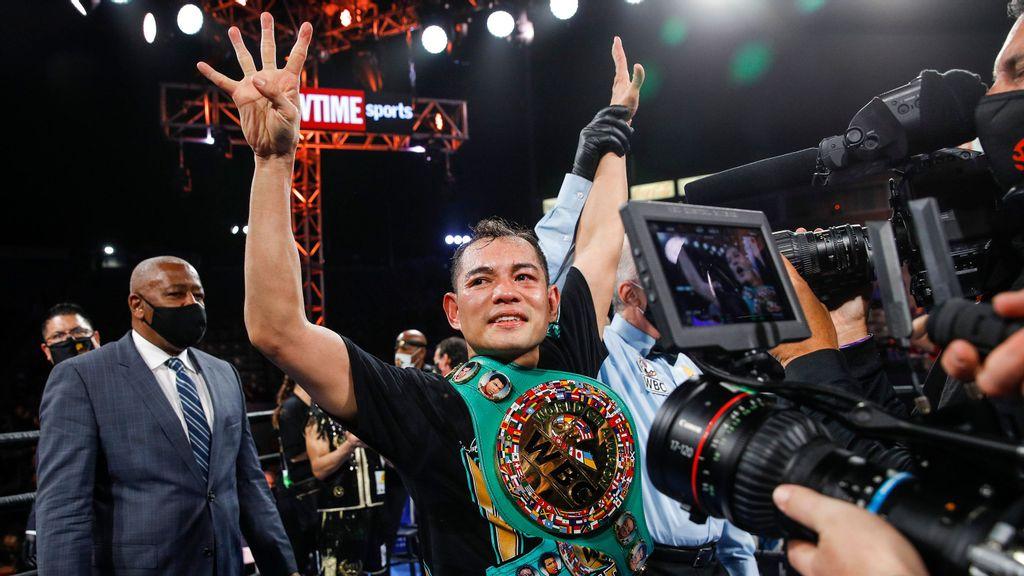 Nonito Donaire retrocede el reloj y gana el título mundial de boxeo a los 38