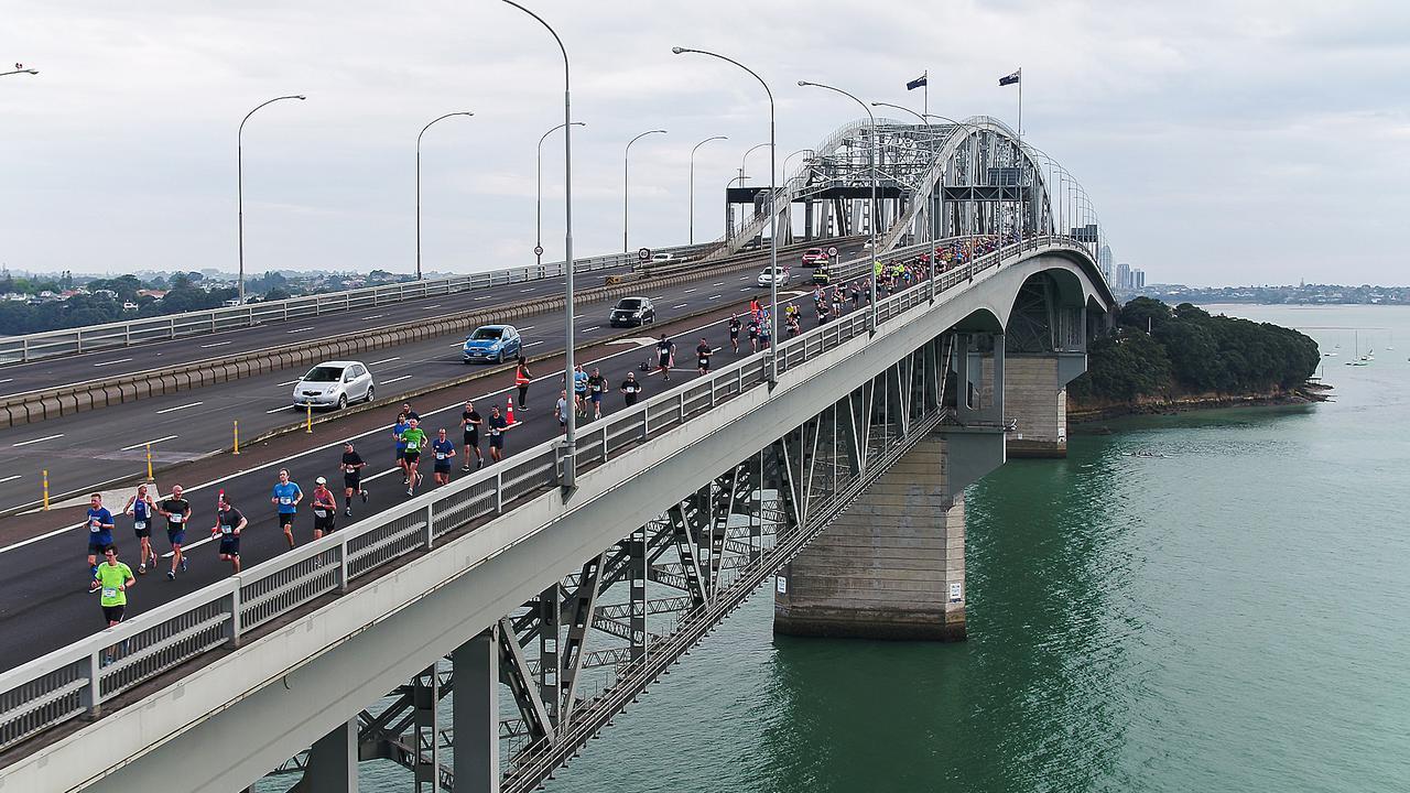 New Zealand City Auckland Gets New Cycleway Bridge