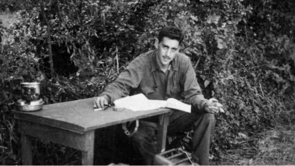Salinger carried a draft of Catcher in the Rye with him as he marched across France. (Public Domain)