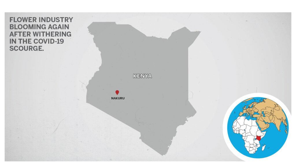 Map of Nakuru Kenya