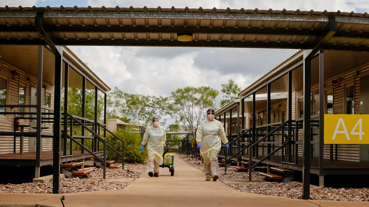 Australia's Northern Territory Hotel Booked For Howard Springs Workers