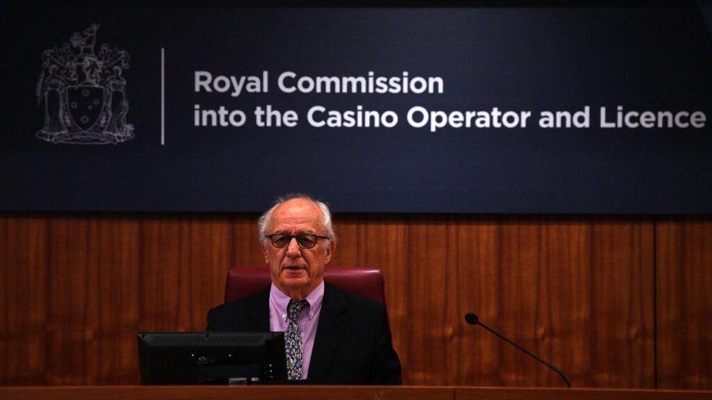 The Crown Melbourne inquiry has been told a punter was lured to the venue with free concert tickets.