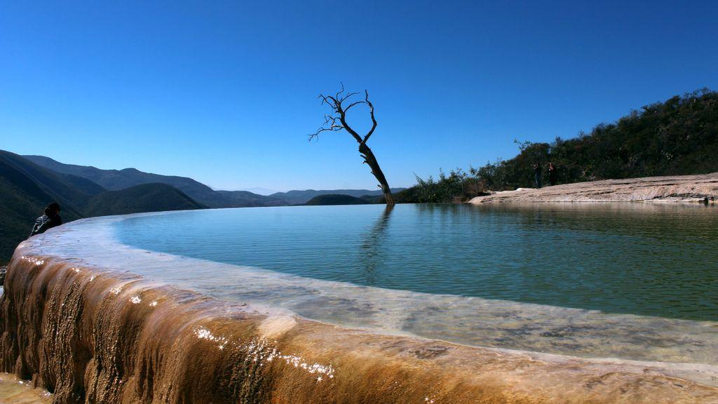 Cascadas petrificadas en Oaxaca: ecoturismo o explotación