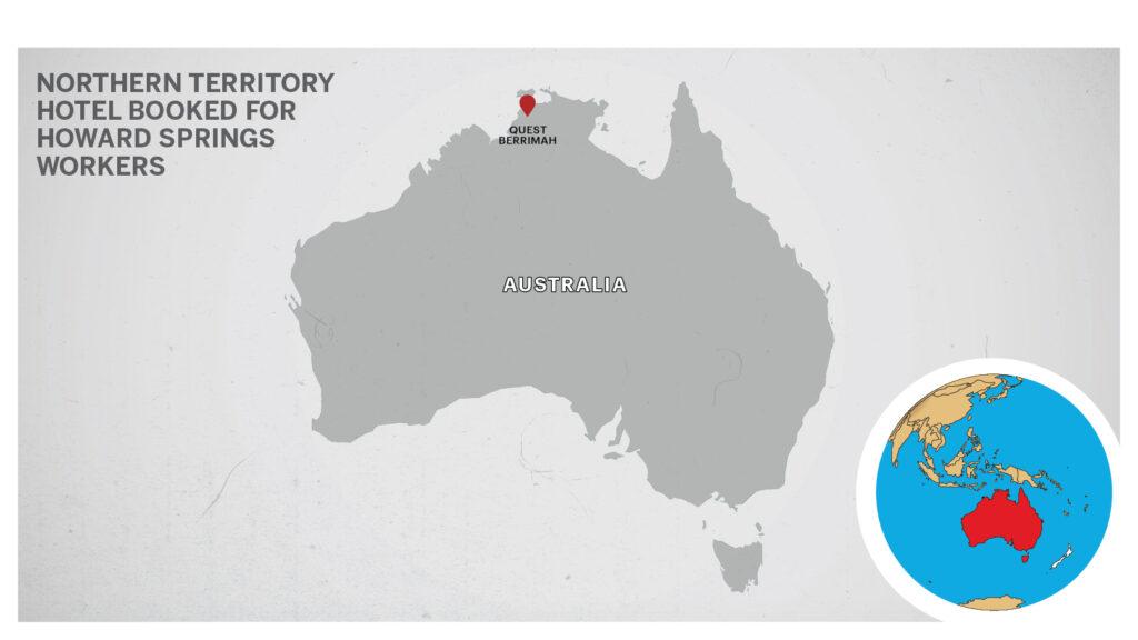 Map of Quest Berrimah Australia