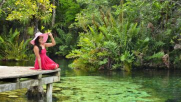 Bueno para el turismo de cualquier índole, México ofrece en particular hermosos lugares acuáticos. (Claudia Rivera/Café Words)