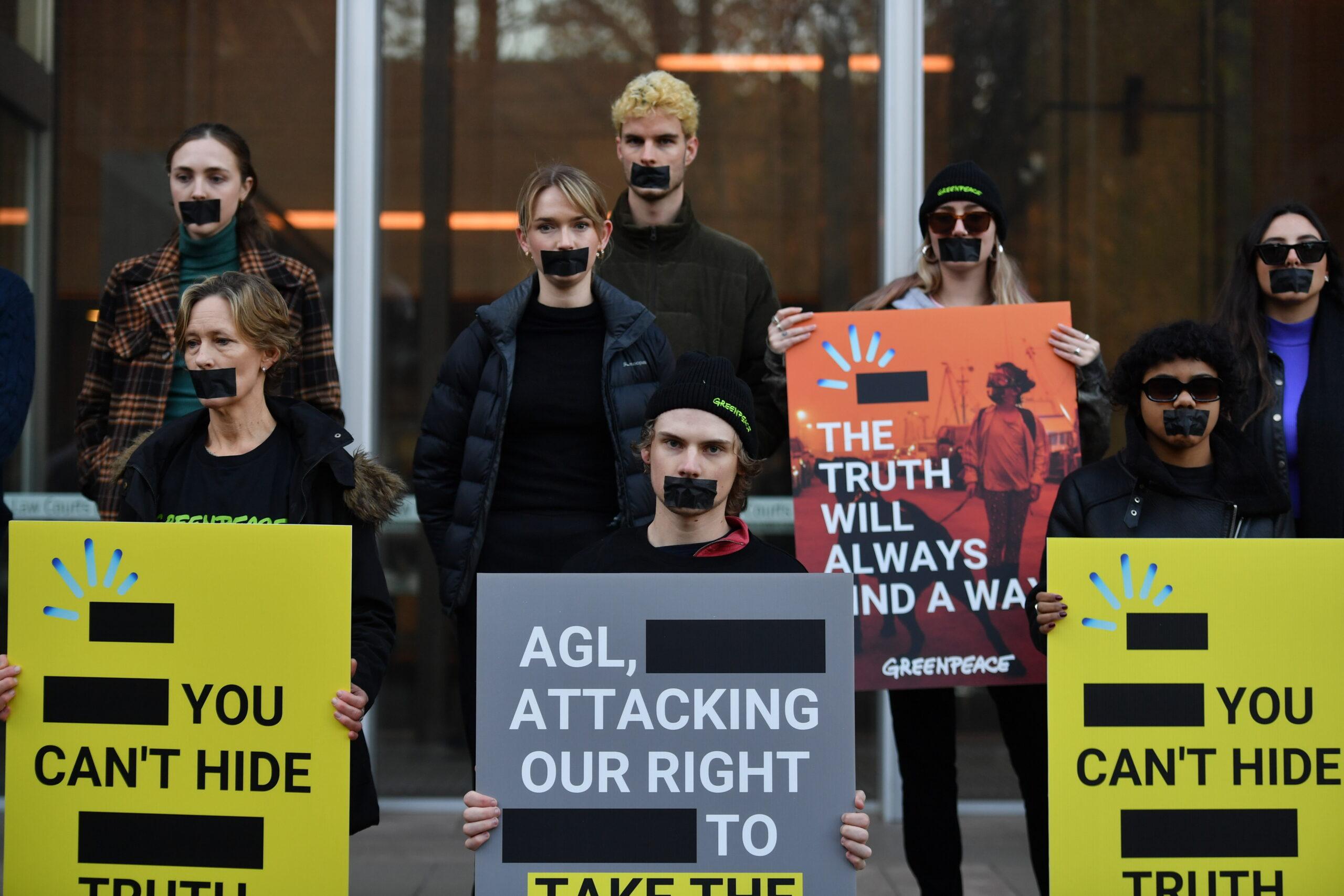 Court Clears Greenpeace's Use Of AGL Energy Logo