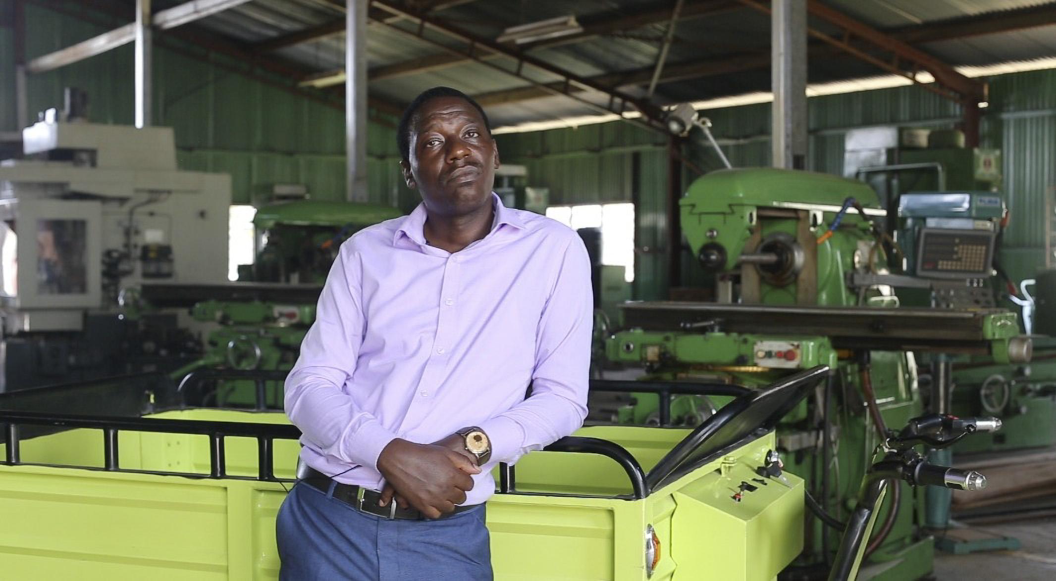 Kenyan Inventor Of Electric Handcarts, Auto Rickshaws Hopes To Go Global