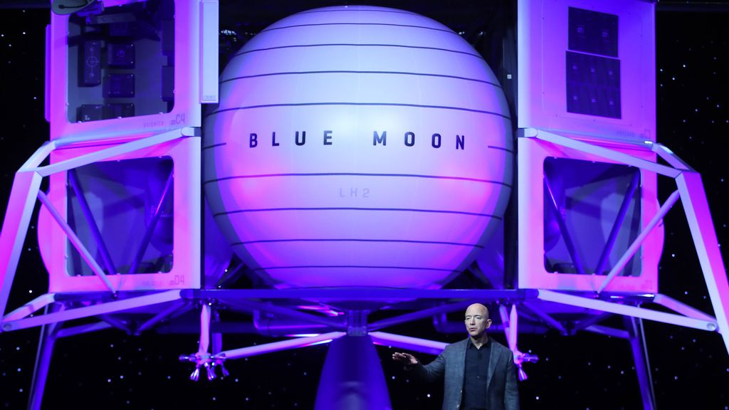 Jeff Bezos' Space Company Set For $10BN From NASA Before He Takes Off On His Own Rocket