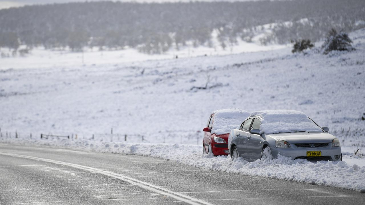 Icy Blast Causes Widespread Snow In Australian State