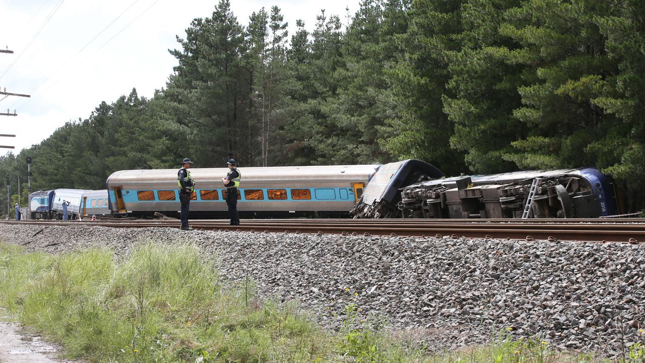 Derailed Train Speeding Through Loop In Melbourne Killed Two
