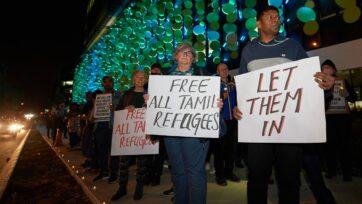 Minister Karen Andrews says she's not investigating specific options for the Biloela Tamil family.