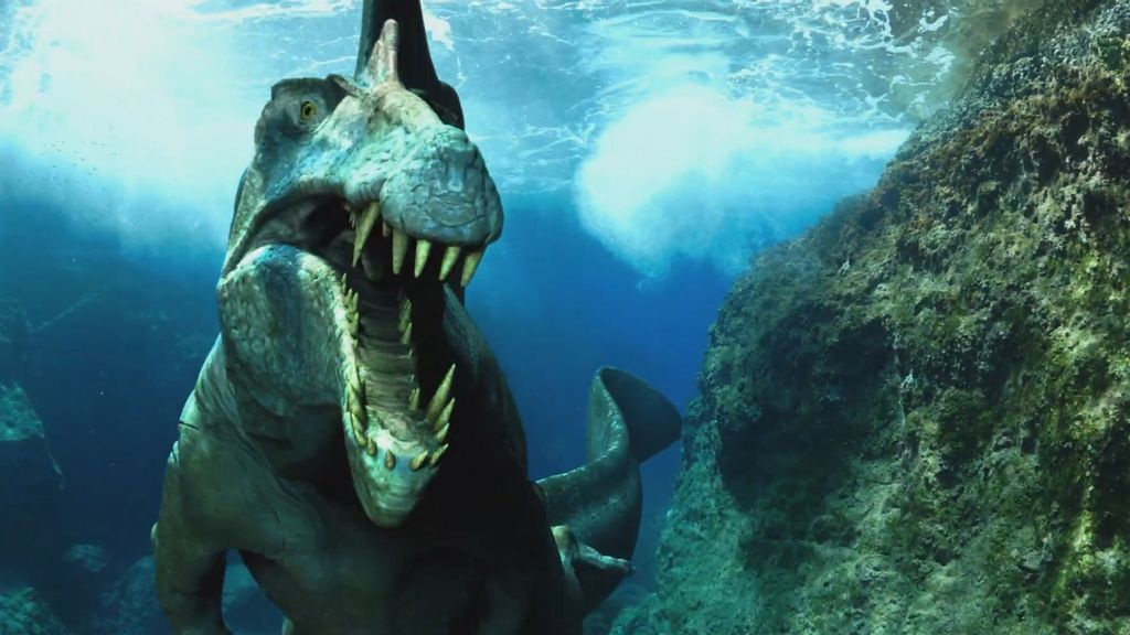 VIDEO: Dino-Might: Top VFX Artist Releases New Clip Of 'Spinosaurus' Series