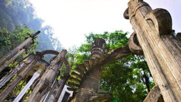 El Jardín Escultorico Edward James, en San Luis Potosí es una experiencia surrealista. (Gobierno de México)
