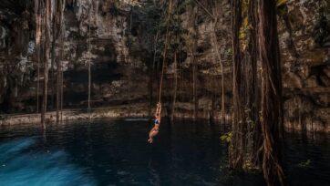 La región sureste de México cuenta con varios cenotes donde los aventureros pueden realizar ecoturismo y conectarse con la naturaleza. (Free Birds/Unsplash)