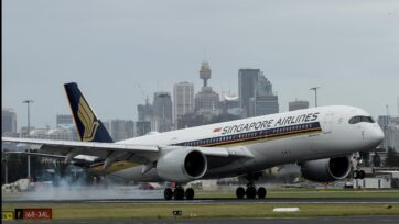A travel bubble was on the agenda for talks between Scott Morrison and Lee Hsien Loong in Singapore.