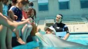 VIDEO: Some-Fin Fishy About This Dolphin