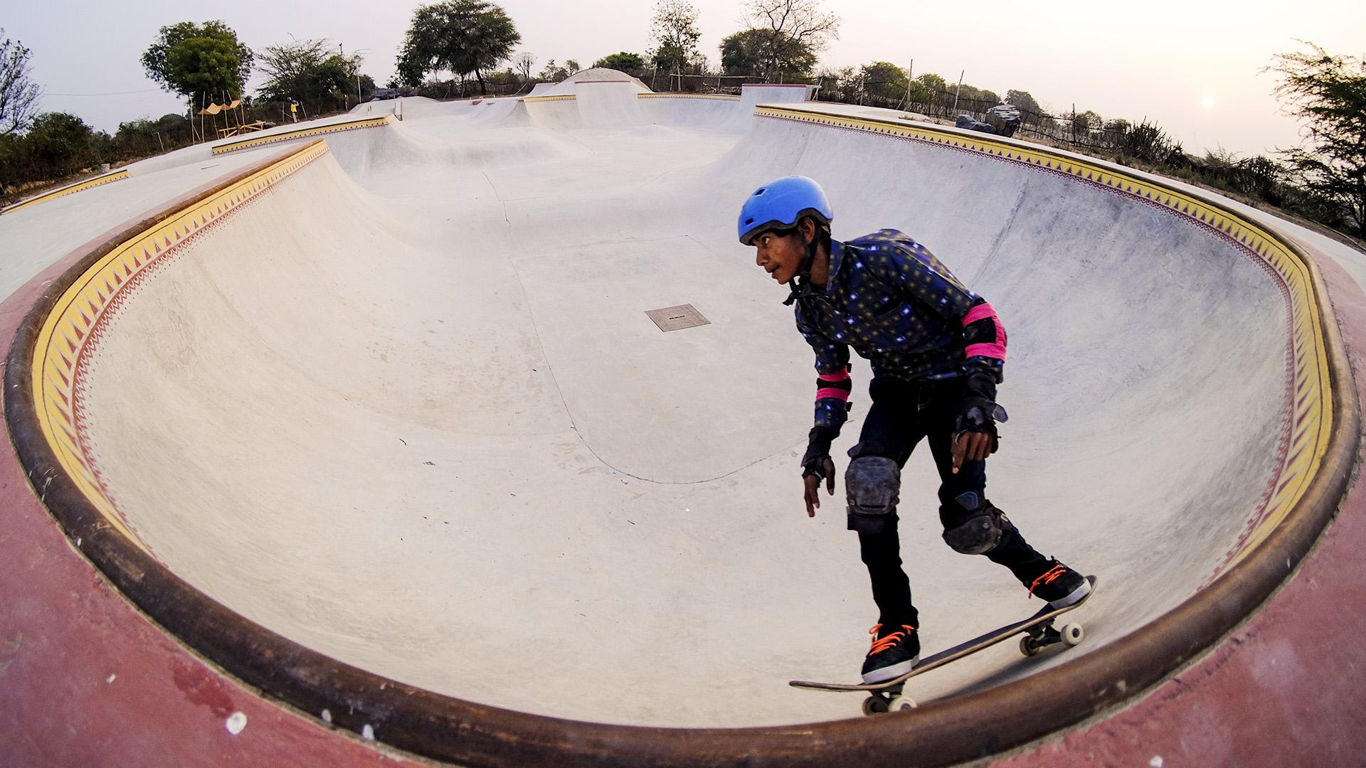 Netflix Movie's Skate Park Set Now Training Ground For Indian Village Kids