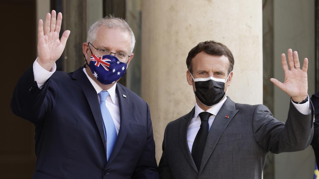 Scott Morrison Holds Talks With French President