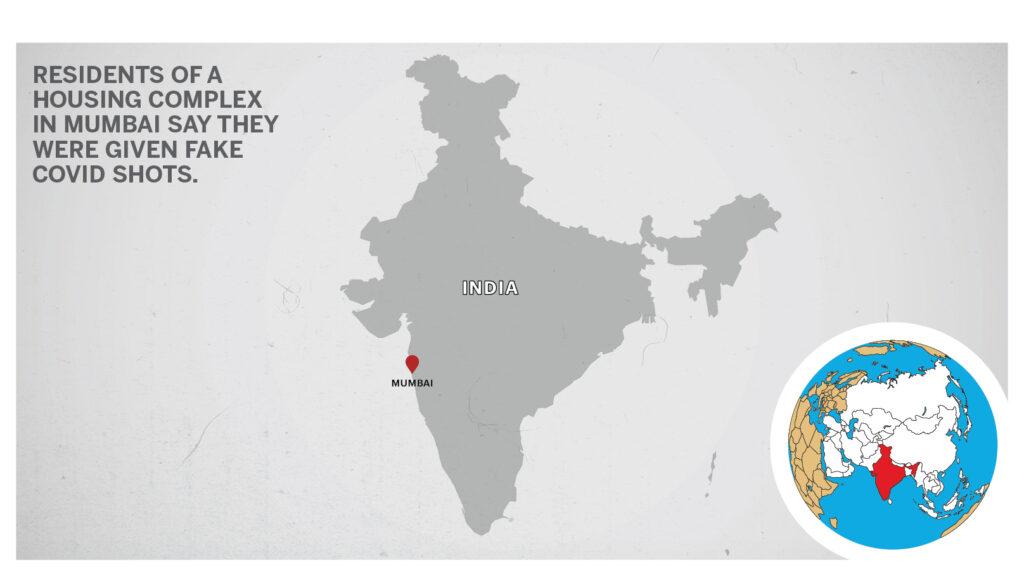 Map of Mumbai, India