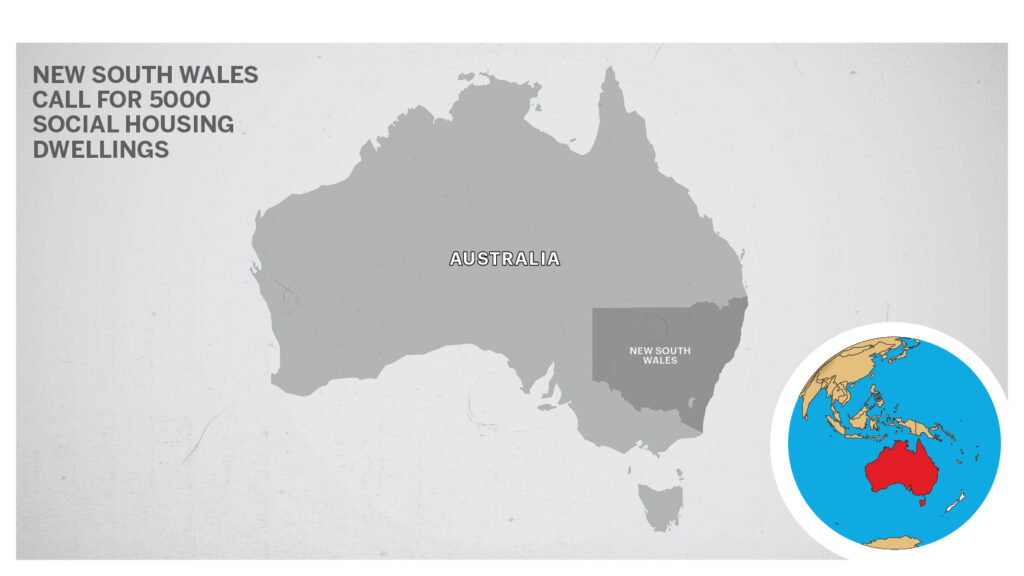 Map of New South Wales Australia 2