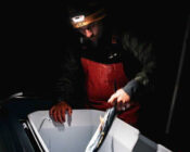 VIDEO: Frying Tonight: Flying Fish Lands Right On The Deck Of Fisherman's Boat