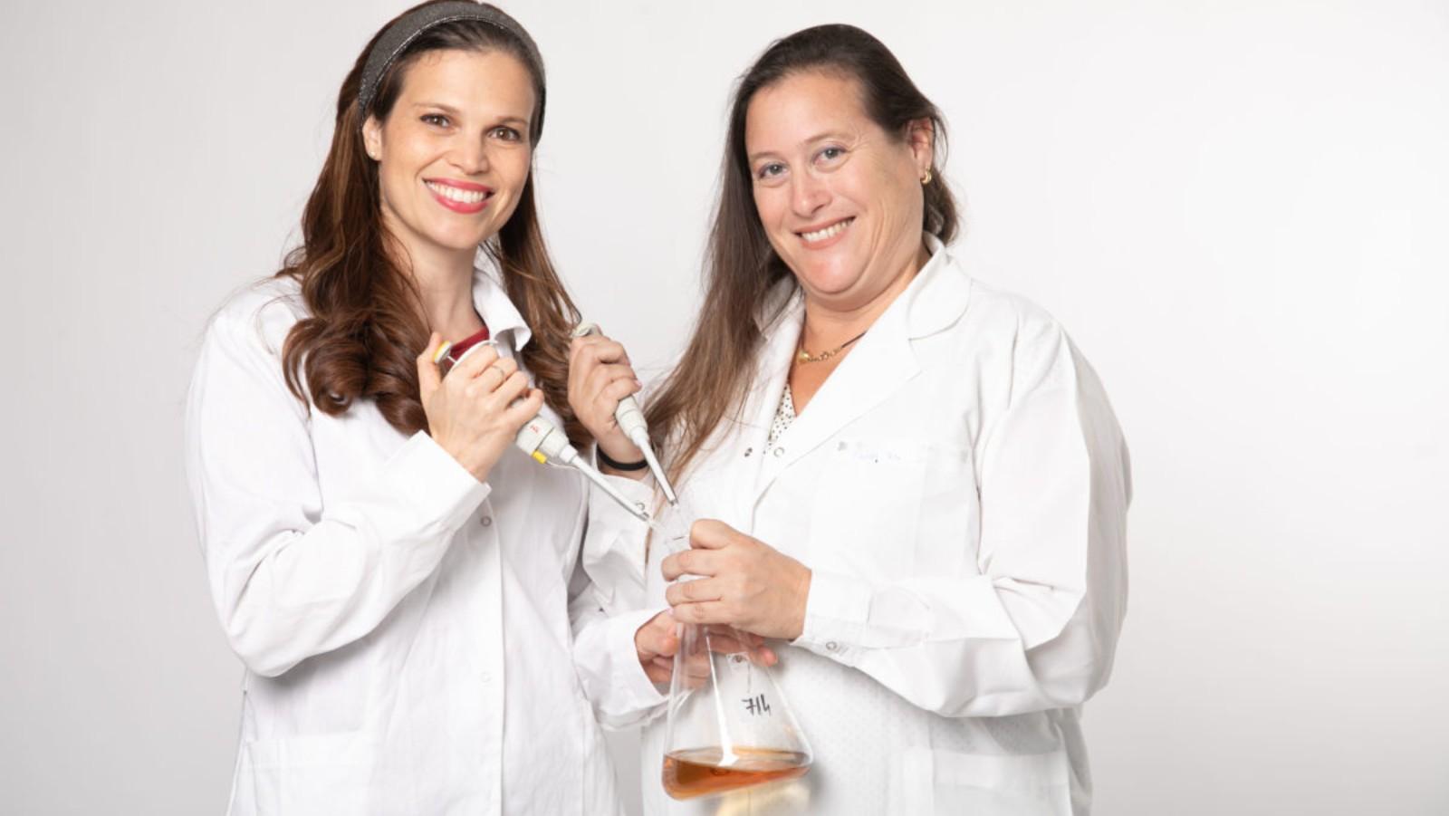 <p>MilkStrip inventors Avital Beck, CEO, and Hadas Shatz-Azoulay, COO. (Courtesy of DiagnoseStrip)</p>