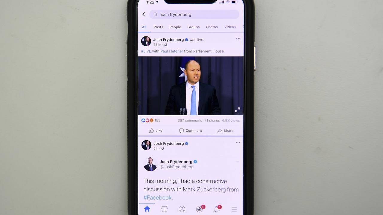 Australians Turn Away From Facebook For News