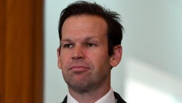 Nationals Senator Matt Canavan says suggestions of a coalition split on water are 'over the top'.