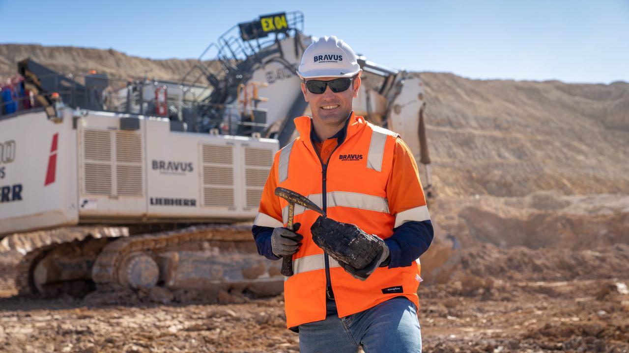 Workers Hit Coal Seam At Adani Mine In Australian State