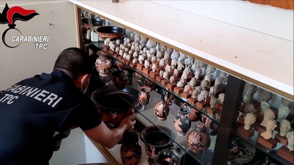 VIDEO: Raiders Of The Loft Arc: $13 Million Illegal Treasure Stash Found In Collector's Attic