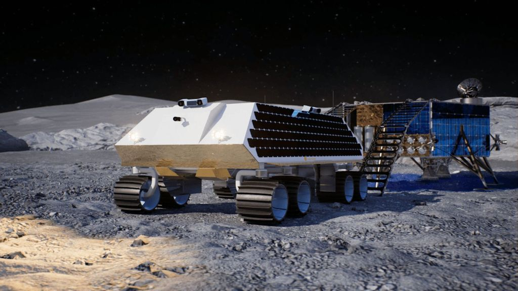 VIDEO: Mine All Mine: New Lunar Rover Will Dig Ice From Moon's Pole For Astronaut Drinking Water