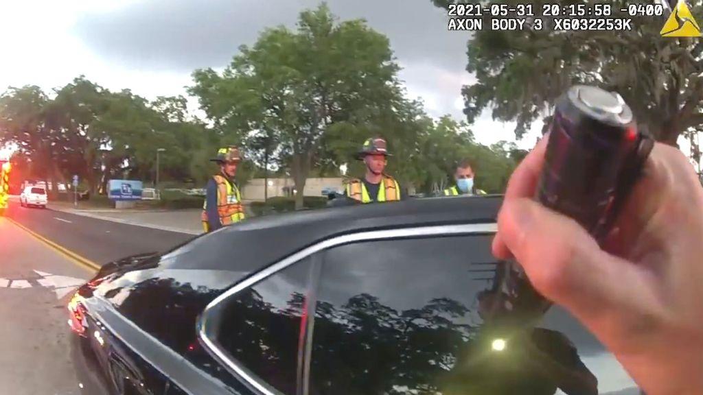 VIDEO: Paramedics Wrestle Loaded Gun From Drunk Driver