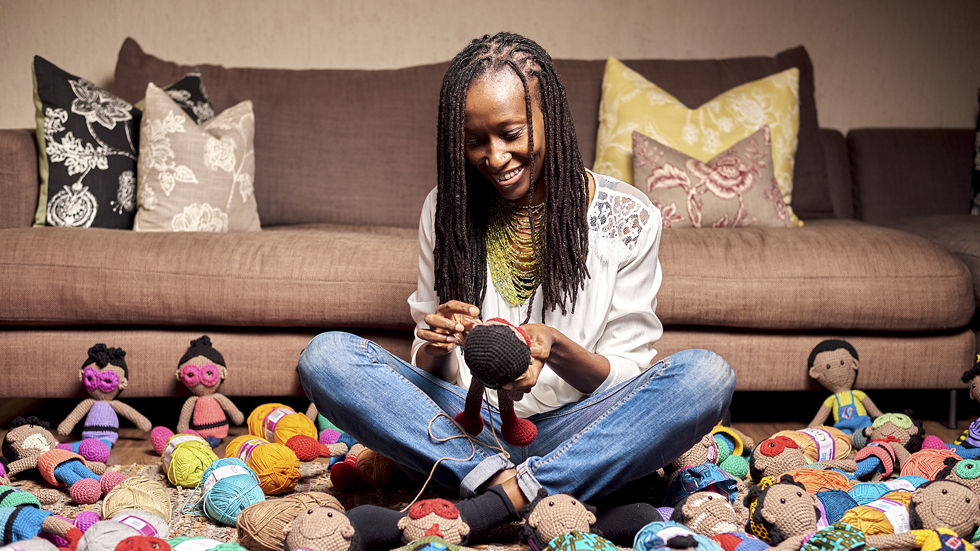 Kenyan Woman Quits Lucrative Oracle Job, Finds Success In African Dolls Business