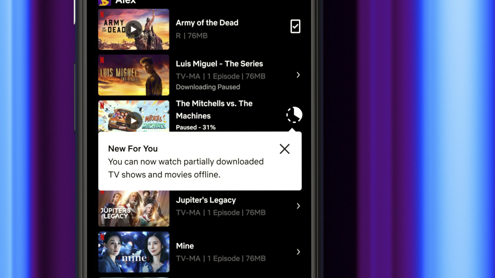 Netflix Rolls Out Partial Downloads Feature For Android Users